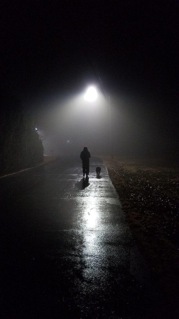 vorsicht beim gassigehen bei nacht